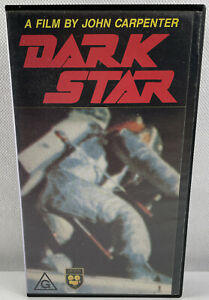 Dark Star Video Tape Cassette Vintage Movie Beta Max box Sci-Fi