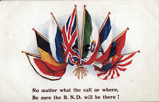 WW1 Miltary Patriotic Allied Flags RND Royal Naval Division