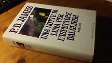 P.D. JAMES - UNA NOTTE DI LUNA PER L'ISPETTORE DALGLIESH - MONDADORI  1a ED.1990