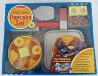 Melissa & Doug Wooden Flip and Serve Pancake Set *BRAND NEW SEALED*