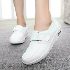 Womens Flats Leather New Hospital Footware Work Skidproof Nursing Shoes Shoes