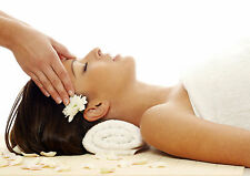 SALON SPA HEALTH BEAUTY MASSAGE FACIAL POSTER PRINT A3 260GSM