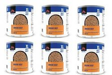 Mountain House Ground Beef #10 Can Freeze Dried Food - 6 Cans, Free Shipping