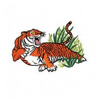 """Growling Tiger Martial Arts Patch 2 Sizes - 6"""" & 10"""""""