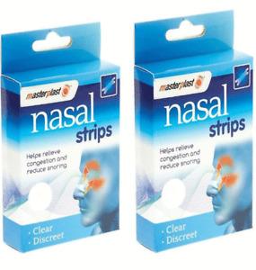 40 X Nasal Strips Drug Free Stop Snoring Great Nose Anti Snore Sleeping Aid