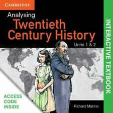 Analysing 20th Century History Units 1&2 Interactive Textbook by Richard Mal