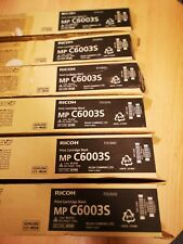 NEW GENUINE RICOH MP C6003s 6Toner SET CYAN 841868 MAGENTA 841867 BLACK 841865