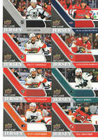 2020-21 UD Upper Deck Hockey Game Used Jersey Card Singles You Pick From List!!!
