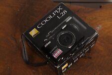 Nikon Coolpix L28 Digital Camera Black In Box
