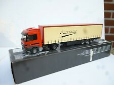1:50 TEKNO  MERCEDES BENZ ACTROS TRUCK & TRAILER  IN DEALER BOX