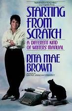 Starting from Scratch, Good Condition Book, Brown, Rita Mae, ISBN 9780553346305