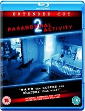 Paranormal Activity 2 Two Extended Cut UK Blu-Ray L@@K Ghosts