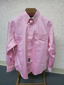 Lauren Ralph Lauren Long Sleeve Non Iron Pink Shirt Men's 16 1/2 - 34/35, New