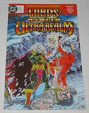 LORDS OF THE ULTRA-REALM (1986) #1  DC Comics VF/NM