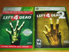 Left 4 Dead Game of the Year Edition & 2 Microsoft Xbox 360 Game w/ Cases! Nice!