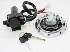 Ignition Switch Gas Cap 2Keys Fit Kawasaki ZX900 NINJA ZX9R ZXR400 ZX7R 94-99