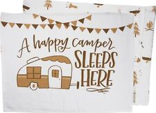 Happy Camper Sleeps Here Pillowcase