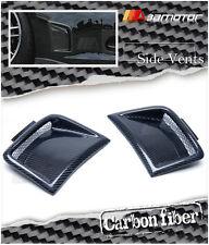 Carbon Fibre Front Bumper Side Vents for Subaru 08-12 Impreza WRX STi GRB Wagon