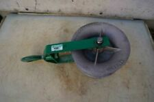 Greenlee 12 Inch 8000 Lbs Sheave For Cable Wire Tugger Puller Great Shape Bg2