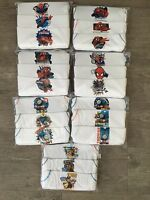 BOYS Baby Kids Pack of 3 Character Cotton Vests Top Underwear Age 1 - 10 Years