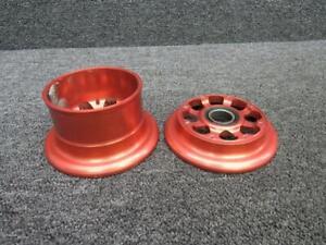 RA-002B (Alt: 31492-001) Cirrus SR20 Beringer Nose Wheel Assy 5.00x5