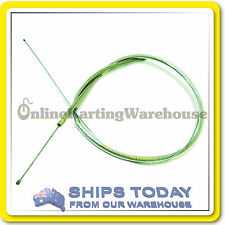 GO KART THROTTLE CABLE ACCELERATOR CABLE HDuty STEEL BRAIDED Rotax TAG etc LONG