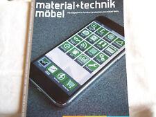 Zeitschrift: material + technik. möbel. 2 / 2018