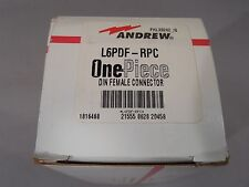"""Andrew L6PDF-RPC 7/16 DIN Female OnePiece Connector for 1-1/4"""" LDF6-50 Cable NEW"""