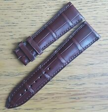 Original OEM Blancpain 23mm Brown Crocodile Leather Strap NEW!