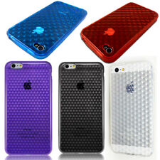 Shockproof TPU Slim Rubber Gel Soft Silicone Case Protector Cover For iPhone HTC