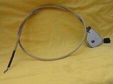Manette SAKER avec cable,vintage, contrôle de gaz,motoculteur,tondeuse,...