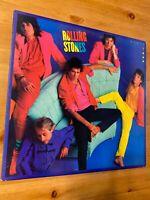 """1986 Rolling Stones Dirty Work ORIG 12"""" 33RPM LP MASTERDISK Rock VG Vinyl"""