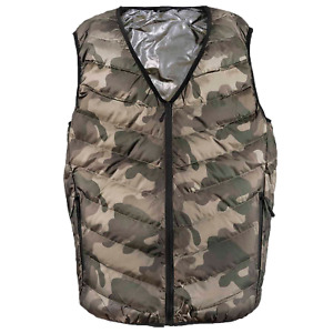 Motorcycle Heated Vest, 3 heating zones, rechargeable 5v battery included