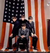 GEORGE HARRISON & RINGO STARR UNSIGNED PHOTO - 5088 - THE BEATLES