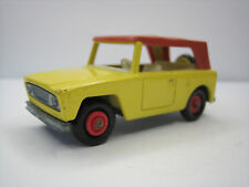 Diecast Lesney Matchbox Field Car No. 18 Yellow Very Good Condition