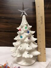 "Ceramic Christmas Tree Bisque 7 1/2"" Tall DIY U Paint Complete Kit"