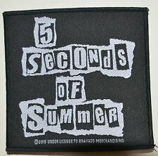 5 SECONDS OF SUMMER - Ripped Logo - Patch 9,7 x 10 cm - 163978