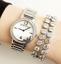 Emporio Armani AR0746 Damenuhr Uhr Farbe;Silber  NEU