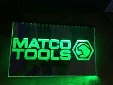 Matco Mirrored Led Neon Light Sign Barn , Shop , Bar , garage