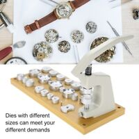 Watch Press Back Case Closer Crystal Glass Fitting Watch Repair Tool With Dies