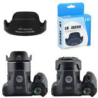 JJC Lens Hood for Canon Powershot SX30 IS SX40 SX50 SX520 SX530 HS as LH-DC60