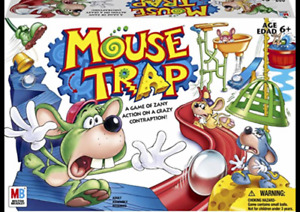 Hasbro 2005 Milton Bradley Mouse Trap Board Game Replacement Parts Pieces