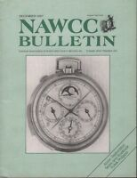 Nawcc Bulletin December 1987 National Association of Watch 051918DBE