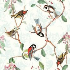 4 x Paper Napkins - Bird Song - Ideal for Decoupage / Napkin Art