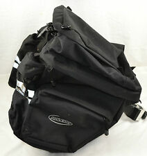 Raleigh Seat Post Mounted Cycle Rear Panniers Bags Touring Cycling Bike Panier