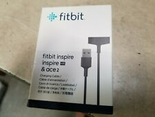 Fitbit - Charging Cable inspire , hr and ace 2 bit Activity Trackers - Black