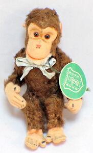 Berg Austria Rare Plush Bear Toy 1940's Monkey original hang tag
