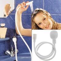 Wasserhahn Duschkopf Spray Drains Sieb Schlauch Sink Haare Waschen Wäsch