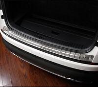For Skoda Kodiaq 2017-2020 Steel Outer Rear Bumper Door Sill Protector Trim 1PC