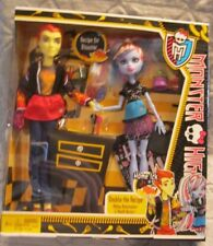 2012 monster high dolls HOME ICK Double The Recipe Abbey Abominable&Heath Burns